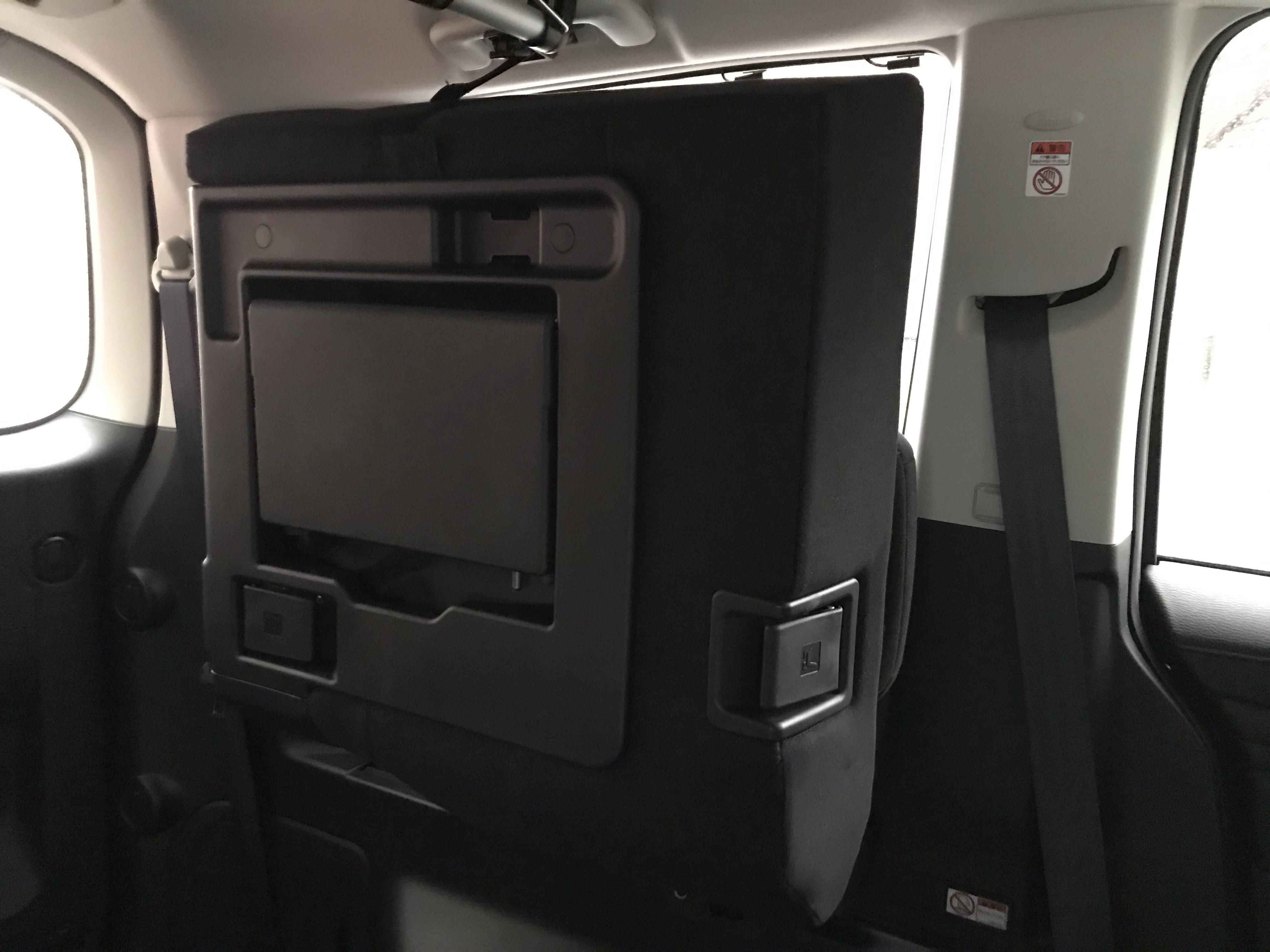 デリカD5 サードシート 3列目シート