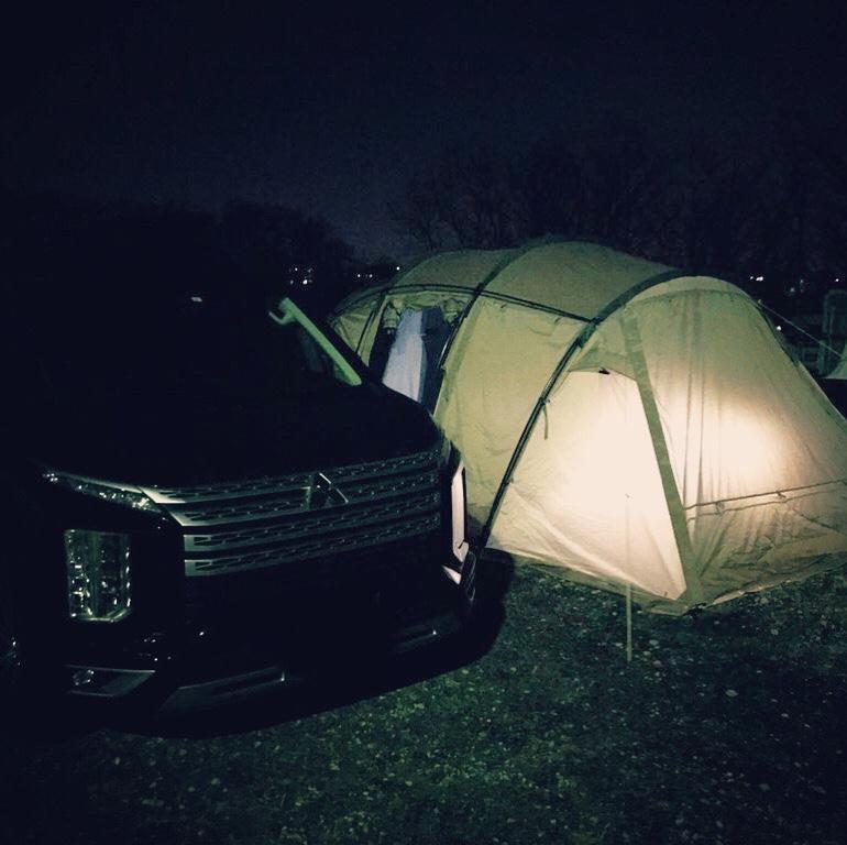 オートキャンプは愛車とテントのコラボ写真が撮れて映える!