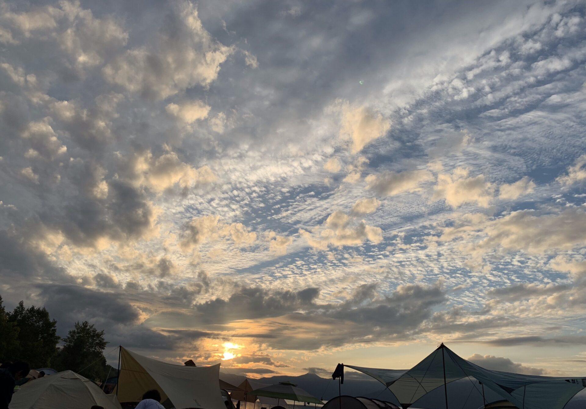 北海道支笏湖モラップキャンプ場はキャンプシーズン中は混雑