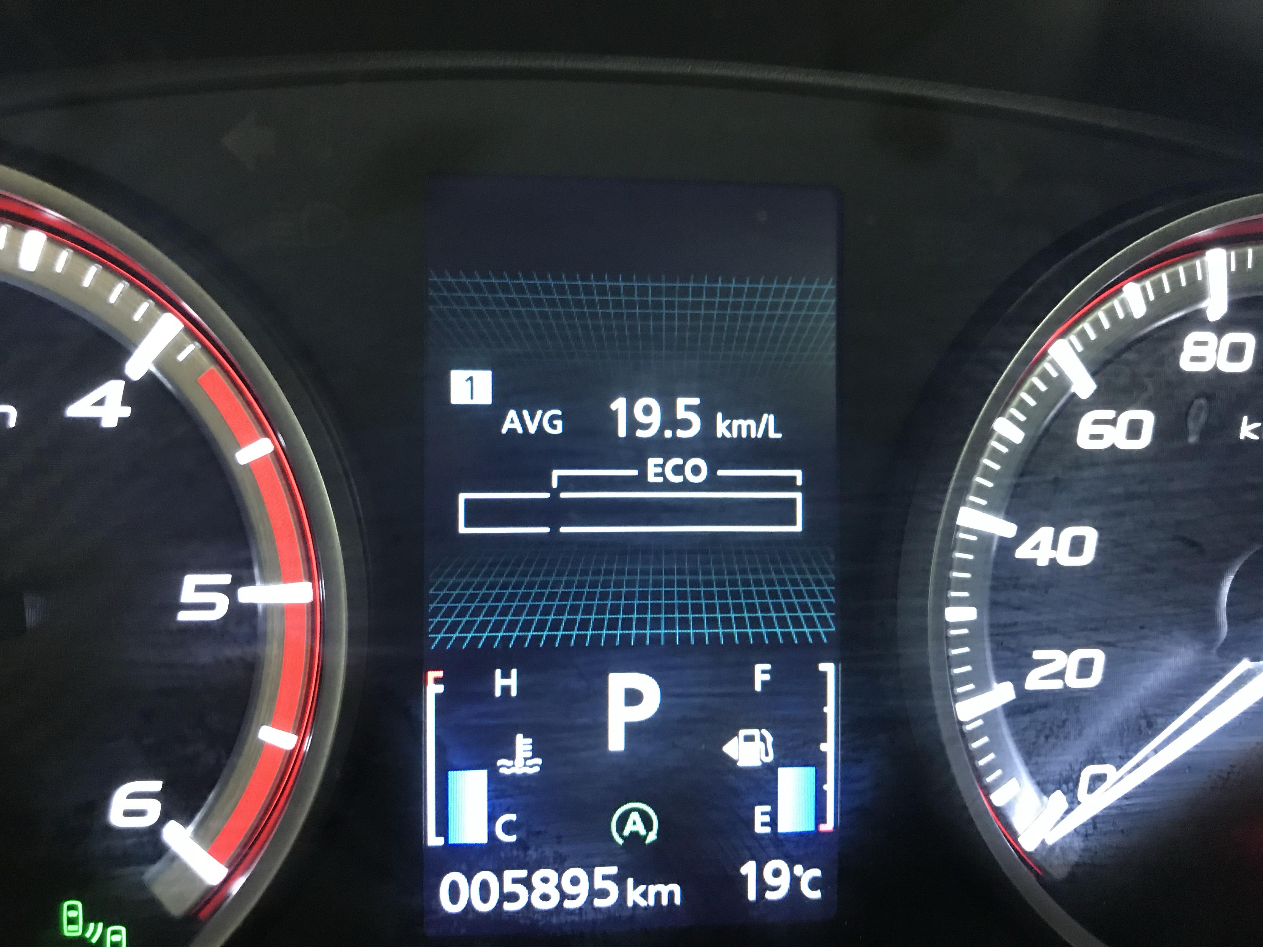 ディーゼルエンジン、新型デリカD5の最高燃費がかなり良い。