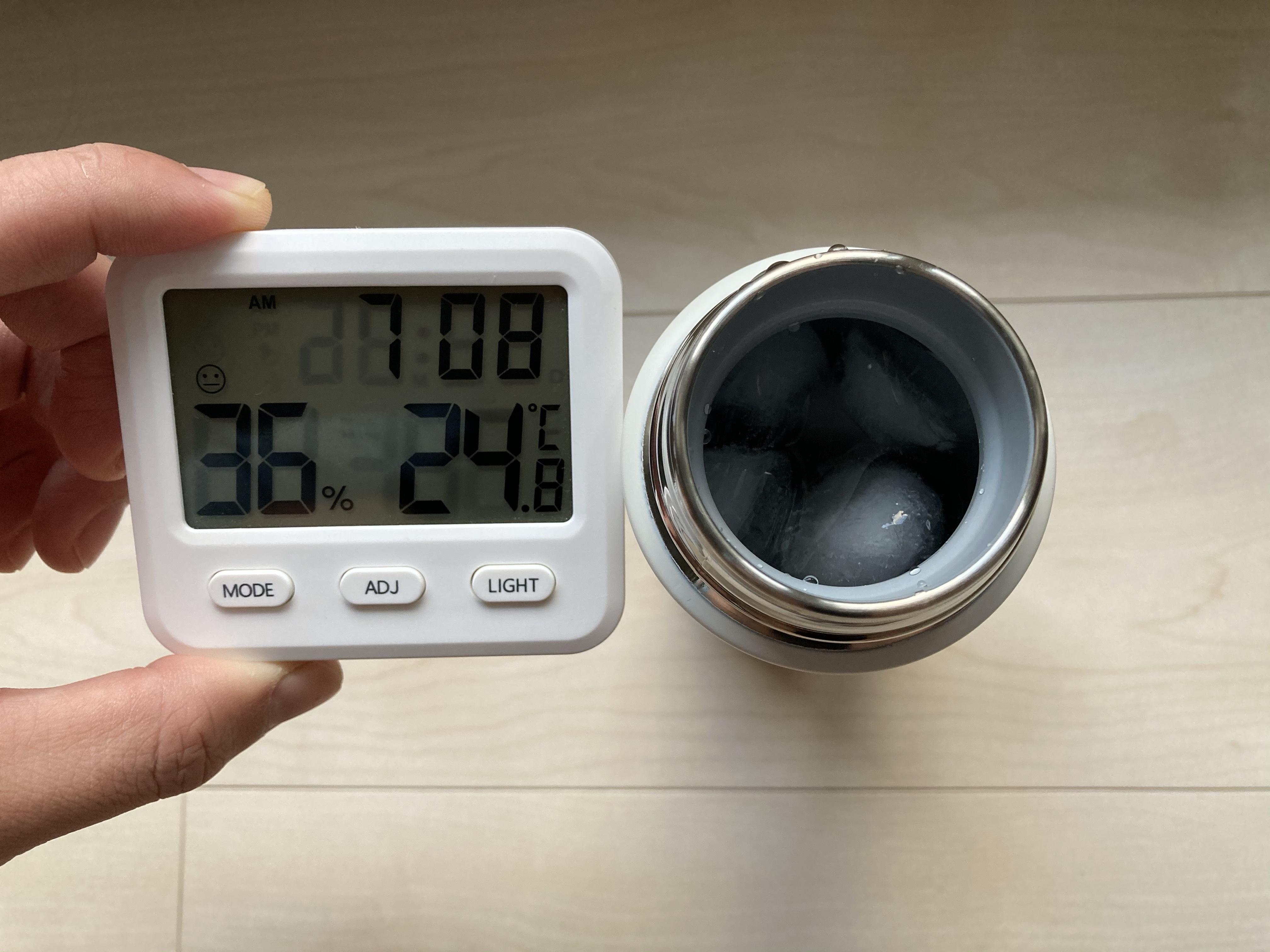 象印 SM-ZAの保冷力を検証