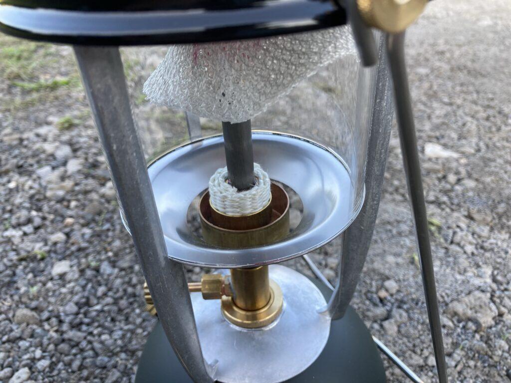 ヴェイパラックスm320の余熱皿